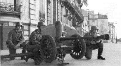 2. Dünya Savaşı'nda Alman Silahlı Kuvvetleri'nde Belçika, İngiliz ve Fransız'ın tanksavar silahları