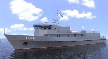 Torpedo boats - project 1388NZT