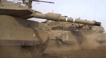 L'esercito israeliano contro la Striscia di Gaza ha deciso di utilizzare i carri armati Merkava