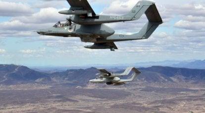 Servicio y uso de combate del avión de ataque turbohélice OV-10 Bronco después del final de la Guerra de Vietnam
