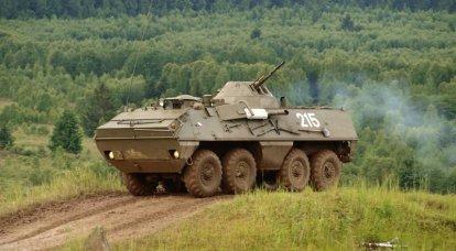 SKOT OT-64. Portaerei blindato che ha superato il BTR-60