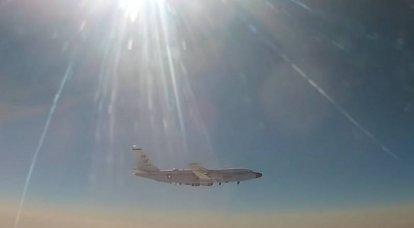 """""""No se permiten violaciones fronterizas"""": el MiG-31 ruso """"interceptó"""" el avión de reconocimiento estadounidense RC-135"""