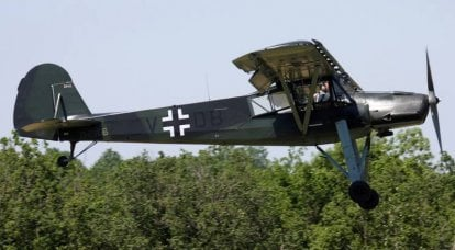 Combat aircraft. Po-2 in the German manner