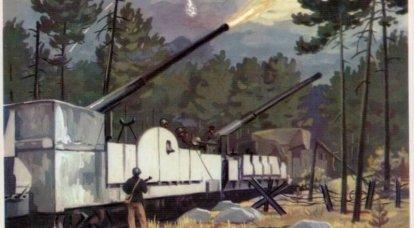 鉄道ドレッドノート。 装甲列車「バルチエット」