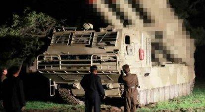北朝鮮は600 mm MLRSのテストを継続