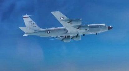 チュクチ地域でのロシアのMiG-31「傍受された」アメリカの偵察RC-135
