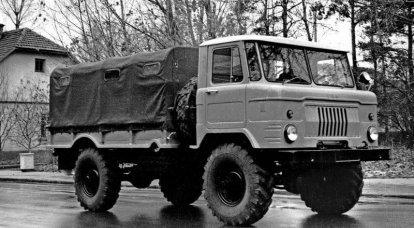 主力名为GAZ-66