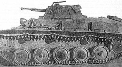 在卫国战争期间尝试制造防空坦克