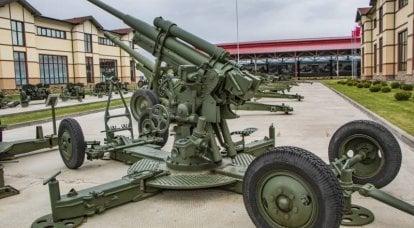 关于武器的故事。 85-mm高射炮