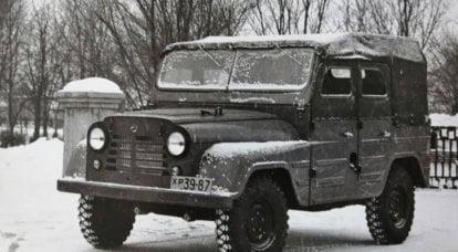 UAZ-469: legends are not born