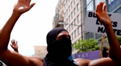 """美国骚乱:FBI在非裔美国人的讲话中""""发现""""了""""中国痕迹"""""""