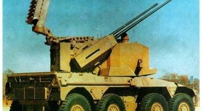 防空自行式安装服务ZA-35(南非)