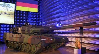 Bundeswehr zırhlı araç güncelleme. Leopard 2A7V birlikleri için gider