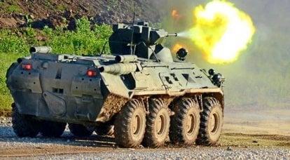 Zırhlı personel taşıyıcı BTR-82A. İnfografikler