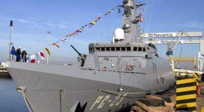 ベネズエラは海軍の可能性を構築