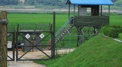 韓国の国境はロボットによって守られています