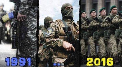 ウクライナ軍:過去から未来へのクローン?