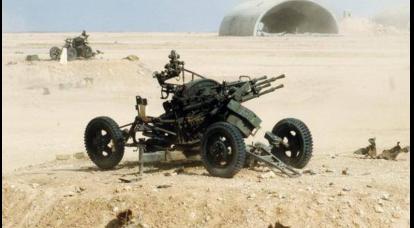 ソビエト戦後の対空機関銃設置