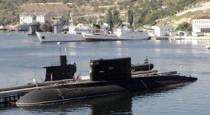 黒海艦隊の潜水艦