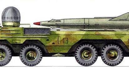 """Complexo de mísseis táticos do projeto """"Yastreb"""""""