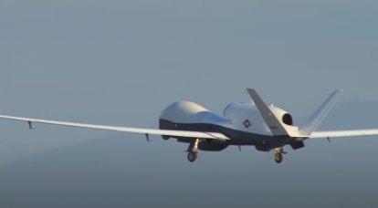 ABD Donanması, drone MQ-4C Triton'un yükseltilmiş bir versiyonunu test etti