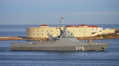 La nave patrullera del proyecto 22160 puede obtener nuevas armas y capacidades.