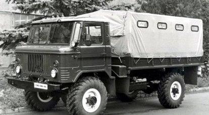 GAZ-66:OKR「バレエ」とディーゼル