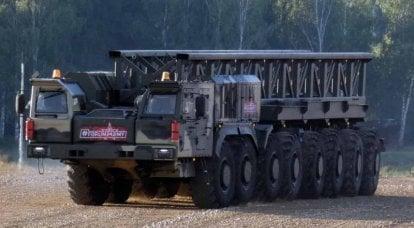 """电动船"""" Platform-O""""-俄罗斯军用汽车工业的主要失败"""