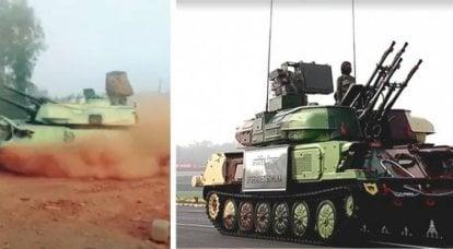 """Nuovo motore e radar con AFAR: in India, un'altra modernizzazione dello ZSU-23-4 sovietico """"Shilka"""""""