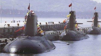 中王国の現在の潜水艦艦隊