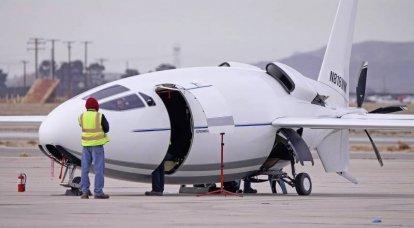 실험용 항공기 Celera 500L. 혁신을위한 비밀 준비