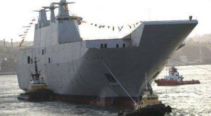 スペイン海軍用水陸両用ヘリコプターキャリアドック「Juan Carlos I」