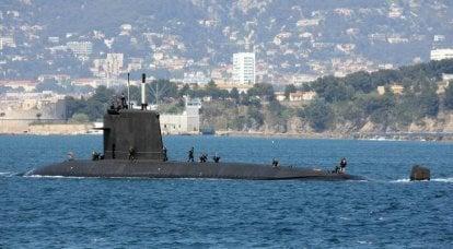 Ciego de dos mitades. La Armada francesa ha descubierto cómo salvar el submarino nuclear incendiado
