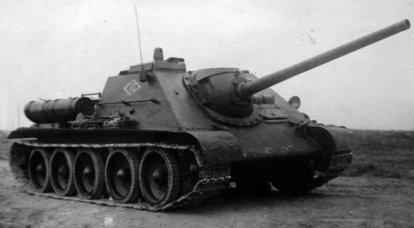 ソビエト自走砲SU-85の対戦車能力