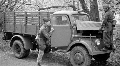 卡车欧宝闪电战:Wehrmacht主力