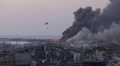 イスラエルの衛星は爆発の前後にベイルートの港の写真を示しました