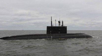 """Sob vigilância constante da OTAN"": o submarino diesel-elétrico russo ""Rostov-on-Don"" entrou no Mediterrâneo"