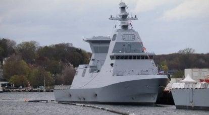 以色列舰队获得了萨尔6号项目的第二艘护卫舰的补给
