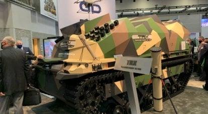 GDLS e AeroVironment apresentaram robôs com munição ociosa