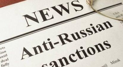 Jeux de sanction. Et en contre-sanctions