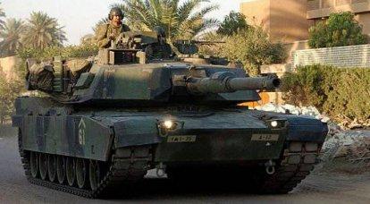イラク軍はT-72戦車からアメリカの「エイブラムス」に再編成されています