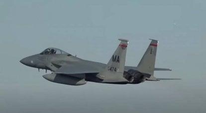 F-15战斗机在收到伊拉克情报机构的数据后即被使用:美国空军在叙利亚发动袭击的细节正在讨论中