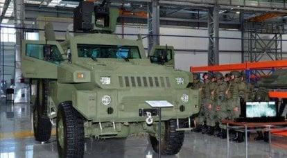 """装甲车""""Arlan""""(哈萨克斯坦/南非)"""