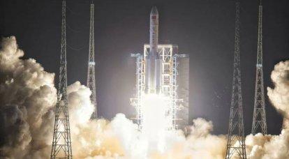 अमेरिकी सेना पृथ्वी पर गिरने वाले एक चीनी प्रक्षेपण वाहन को नहीं गिराएगी