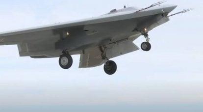 """중국 언론에서 : 무인 항공기 분야에서 뒤처진 러시아는 UAV """"Okhotnik""""으로 인해 """"회복""""할 수 없을 것 같습니다."""