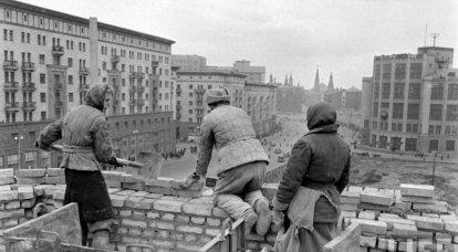 戦後モスクワ