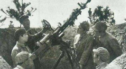 Service und Kampfeinsatz chinesischer Flugabwehr-Maschinengewehranlagen während des Kalten Krieges