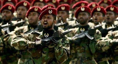 """Forces spéciales de Ceylan. L'ennemi principal est les """"tigres tamouls"""""""