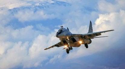MiGs no fundo de Ararat ...