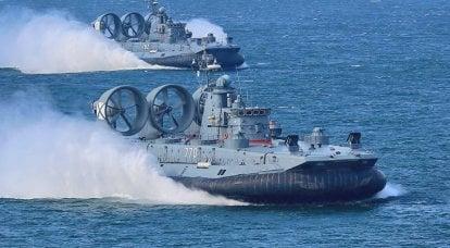 """Des navires pour la """"guerre des étoiles"""" de la flotte russe menacent le monde?"""